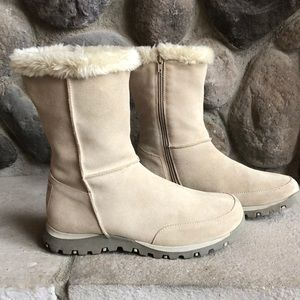 Skechers Outdoors Suede Leather Boots